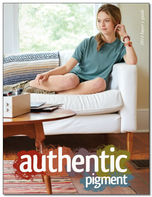 Authentic Pigment Cover