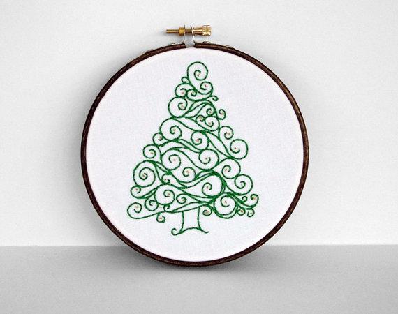 Tree in hoop
